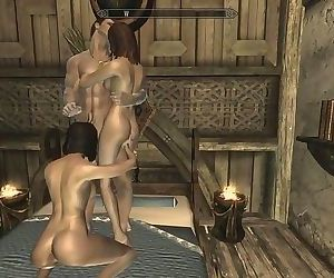 Skyrim: Sex With My Wifey &..